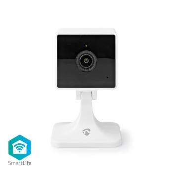 Nedis WIFICI40CWT Smartlife Camera Voor Binnen Full Hd 1080p Cloud / Microsd Nachtzicht Android™ & Ios Wi-fi Wit